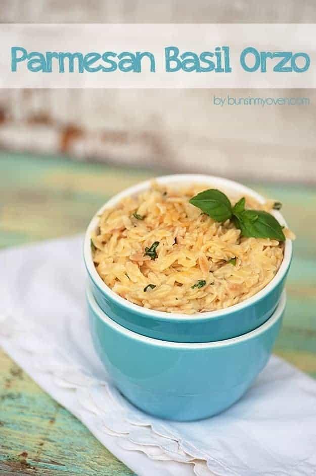 parmesan basil orzo recipe