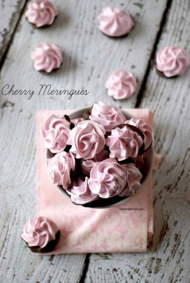 Chocolate-Dipped-Cherry-Meringues-1