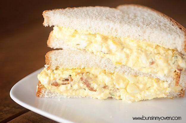 cheddar bacon egg salad recipe