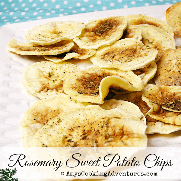 Rosemary Sweet Potato Chips