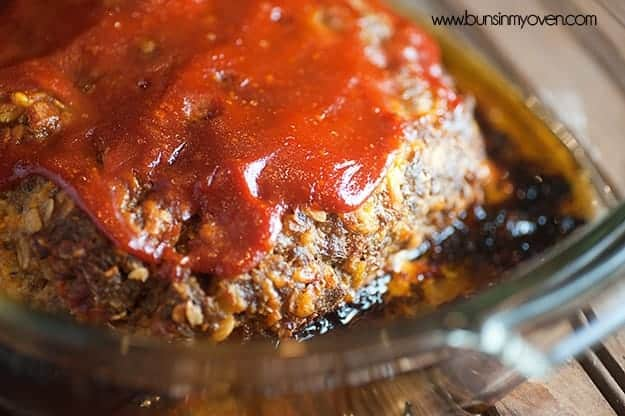 This bacon cheeseburger meatloaf is full of cheese, bacon, and mayo - it's our family's FAVORITE recipe!