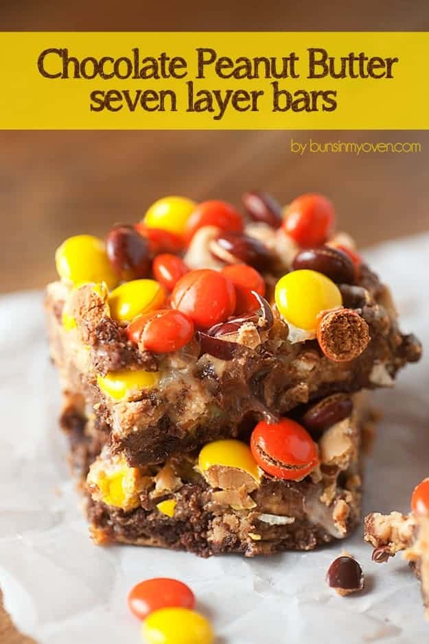 Reeses Chocolate Peanut Butter Bars Chocolate Peanut Butter Seven