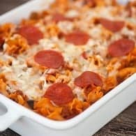 sausage pepperoni pizza pasta