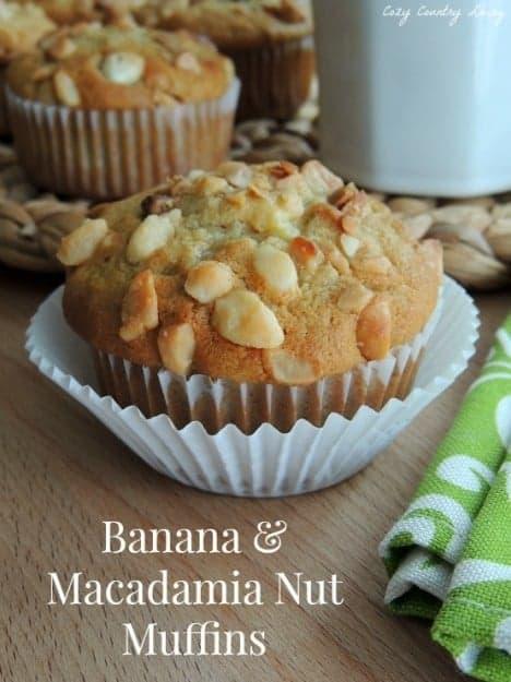 Banana-Macadamia-Nut-Muffins
