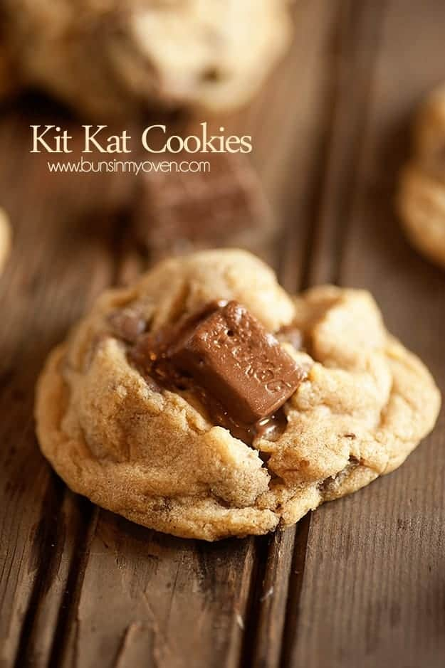 Malted Kit Kat Cookies Recipes — Dishmaps