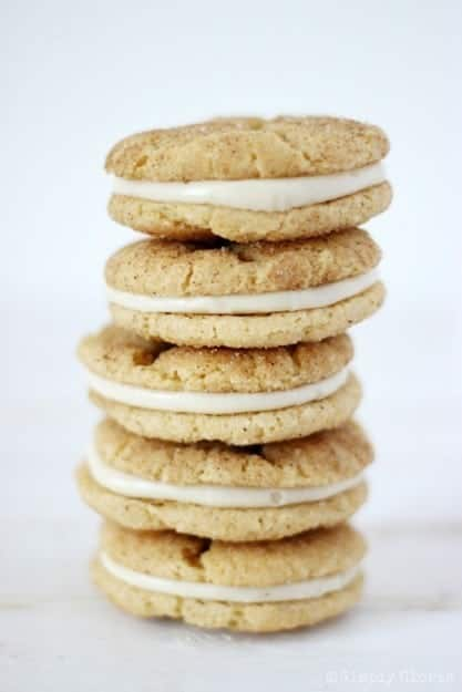 Chai-Snickerdoodle-Whoopie-Pies-with-SimplyGloria.com-Chai-cookies