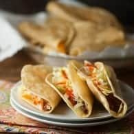 The BEST fried taco recipe...a copycat of Jack in the Box's crispy tacos! My family begs for these!
