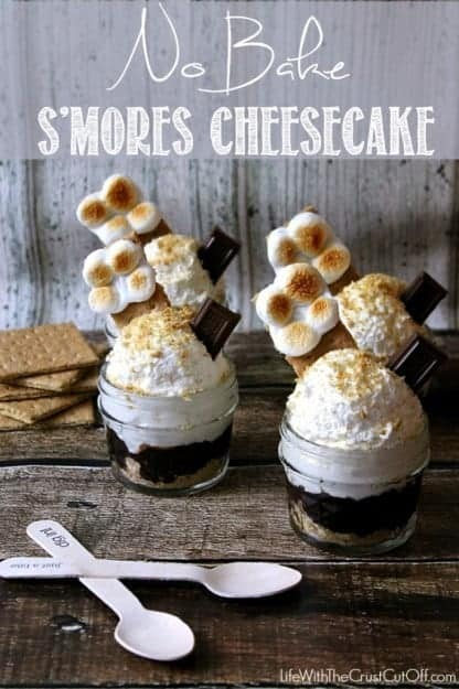 No-Bake-Smores-Cheesecake
