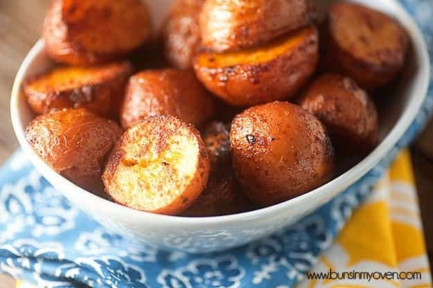 barbecue roasted red potatoes recipe