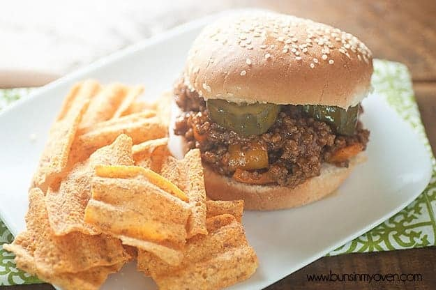 on the go sloppy joe recipe