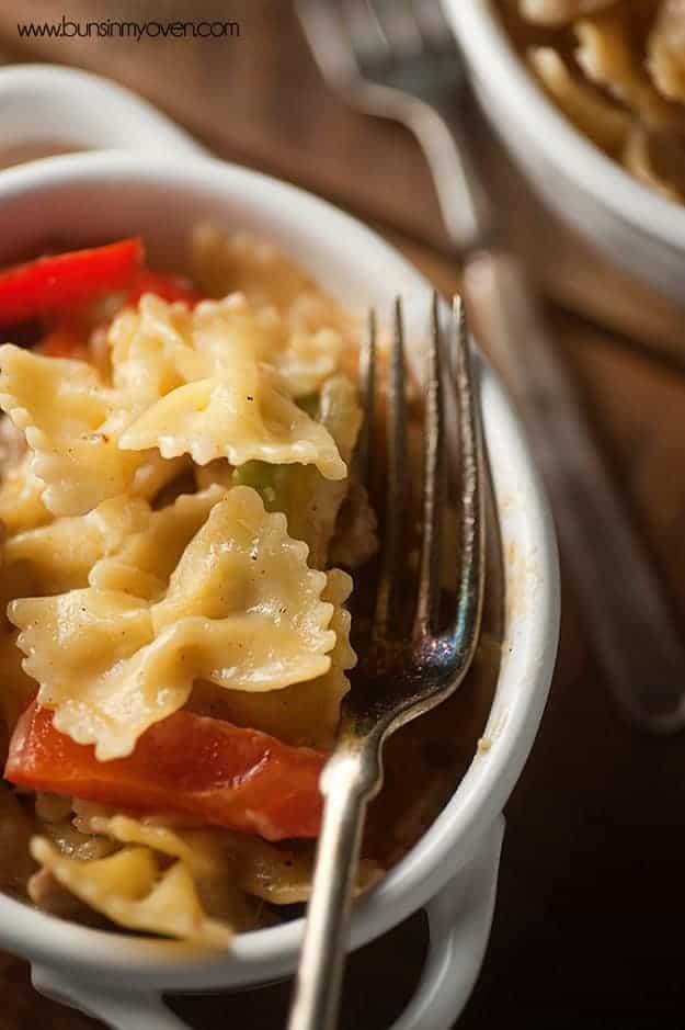 Philly Cheesesteak Pasta #recipe