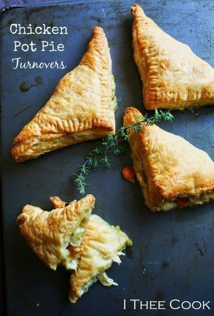 Chicken Pot Pie Turnovers 1