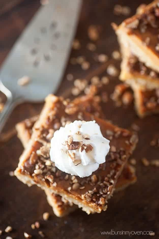 pumpkin oatmeal pecan bar recipe