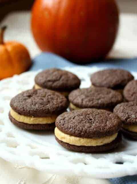 ... Sandwich Cookies with Pumpkin Spice Buttercream from Chocolate with