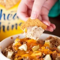 Hot Apple Pie Dip Recipe - an easy holiday recipe!