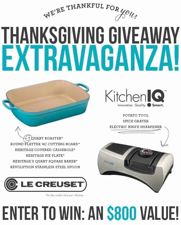 Thanksgiving Reader Giveaway