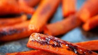 Spicy Maple Glazed Carrots