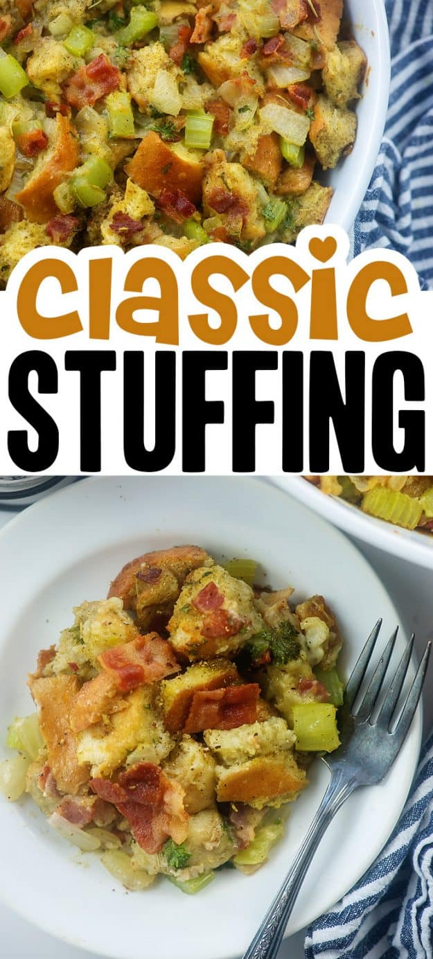 collage of stuffing photos.