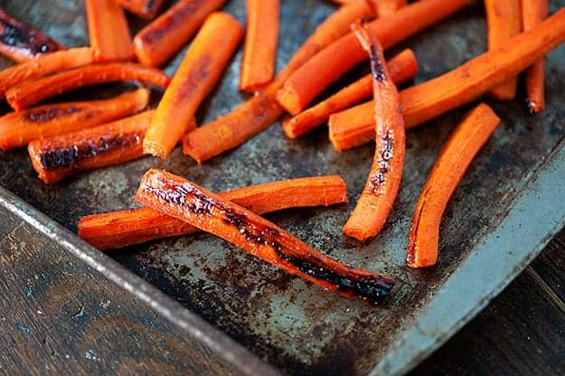 it comes to carrots. Roasted carrots, steamed carrots, carrots glazed ...