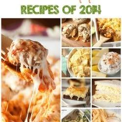 2014 most popular recipes