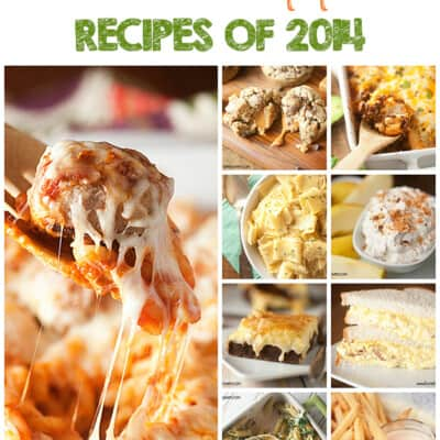 2014 most popular recipes