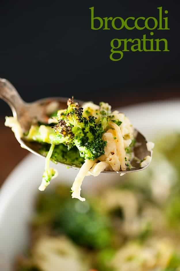 Cheesy Broccoli and Cauliflower recipe