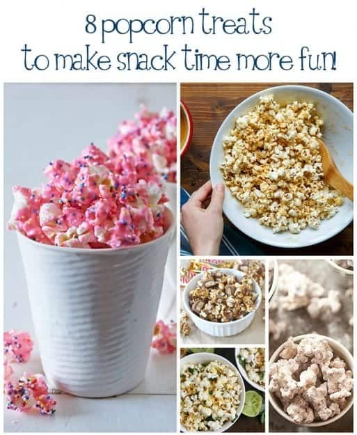 8 fun and unique popcorn recipes!