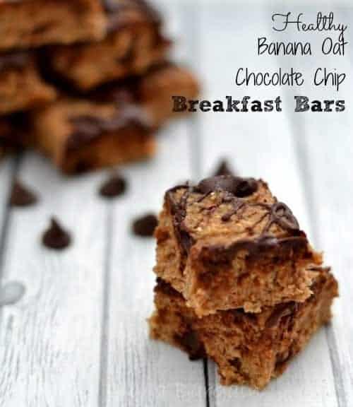 Healthy-Banana-Oat-Chocolate-Chip-Breakfast-Bars