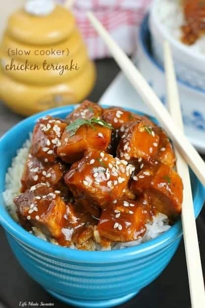 {Slow Cooker} Chicken Teriyaki via -- @LifeMadeSweeter