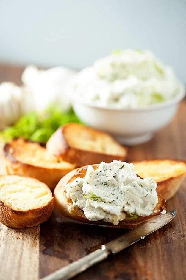 Garlic Tomato Crostini With Ricotta Recipes — Dishmaps