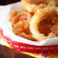 Old Fashioned homemade onion rings recipe