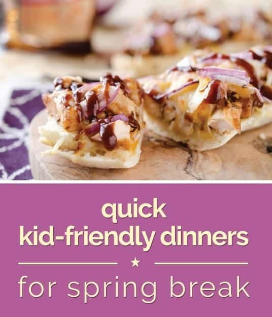 Quick kid-friendly dinner recipes