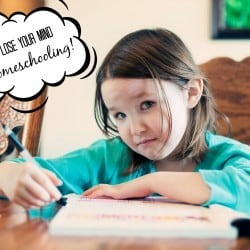 How to NOT lose your mind while homeschooling! Homeschooling resources and ideas!