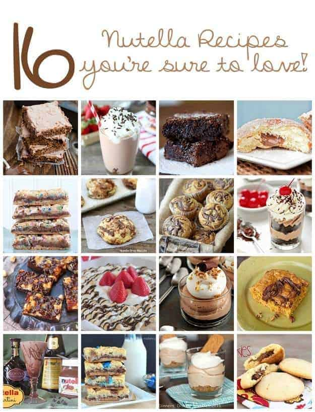 16 Nutella Recipes That You MUST Try!