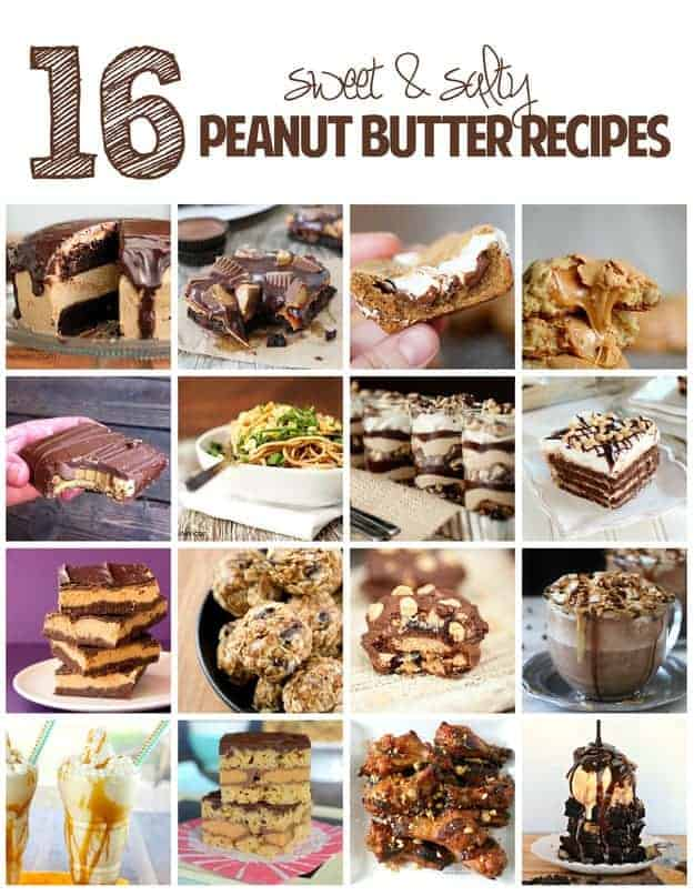 16 sweet and salty peanut butter recipes that you have to try!
