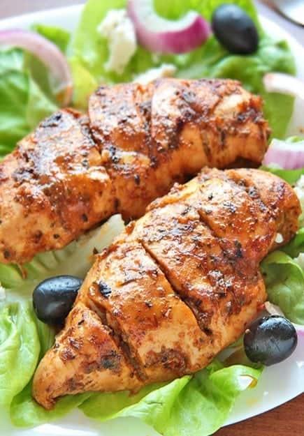 greek-marinated-chicken-bake