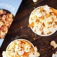 Nacho Cheese Doritos Popcorn - a fun and easy snack for kids!