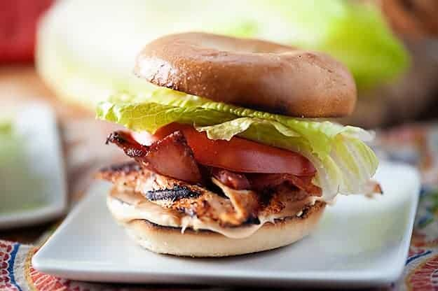 spicy chicken blt