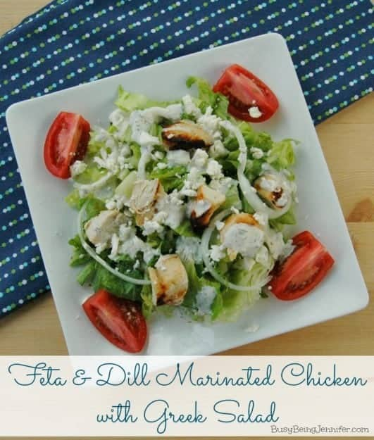 Feta-and-Dill-Marinated-Chicken-with-Greek-Salad-from-BusyBeingJennifer.com_