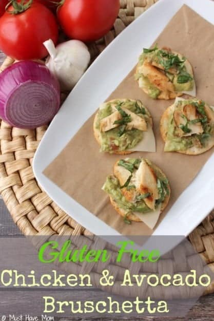 Gluten-Free-Chicken-Avocado-Bruschetta-Recipe