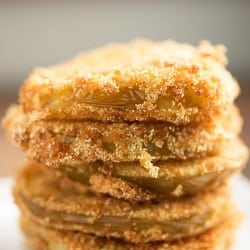 Wondering how to make fried green tomatoes? This is my favorite recipe!
