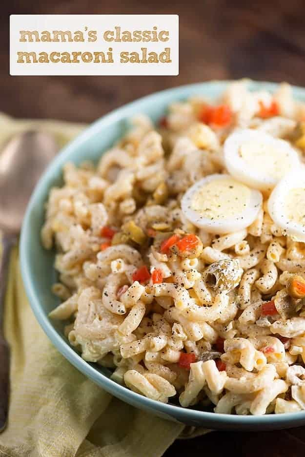 Buns In My Oven Classic Macaroni Salad — Buns In My Oven