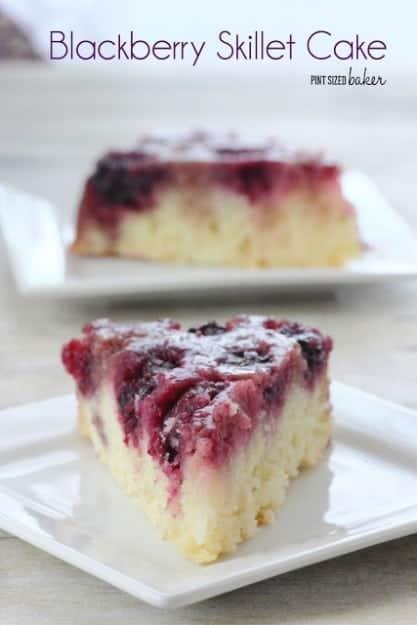 Blackberry Upside down Cake-8a