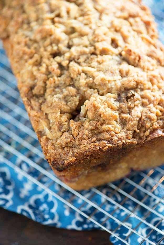 Coconut Orange Raspberry Quick Bread - super moist and full of bright citrus flavors!