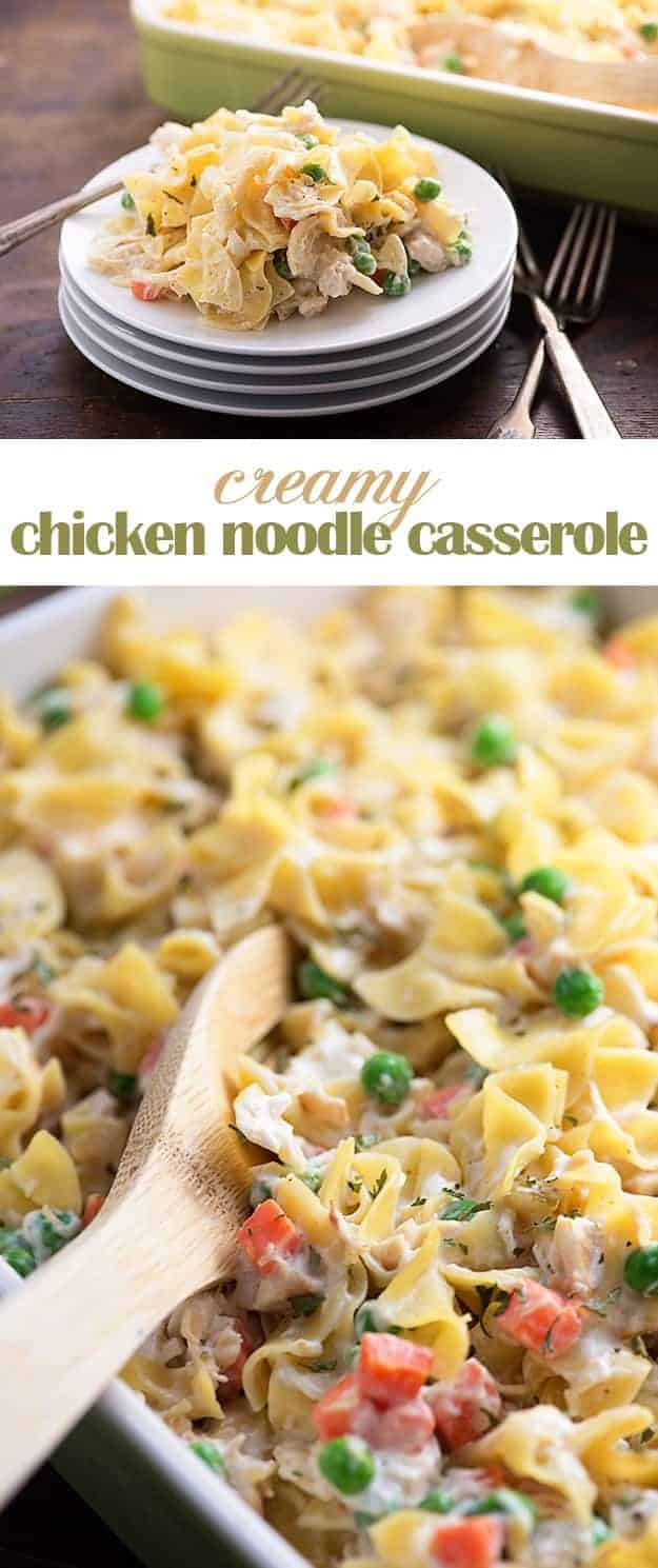 Chicken Noodle Casserole — Buns In My Oven