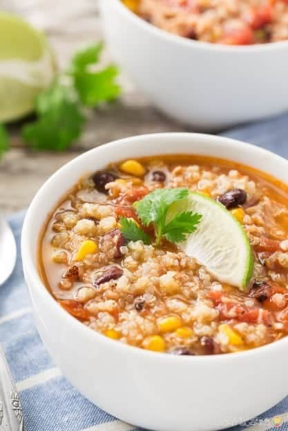 Chicken Quinoa Soup DA