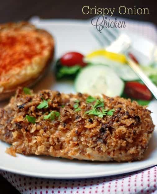 Crispy-Onion-Chicken
