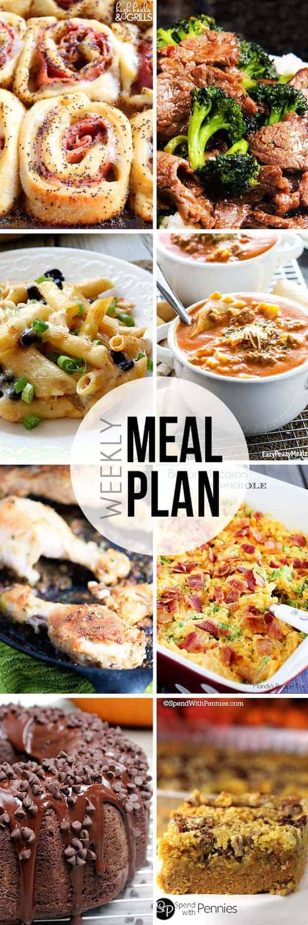 Easy weeknight meals all in one place!