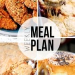 An easy weekly meal plan full of weeknight dinner recipes!