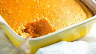 Carrot Custard